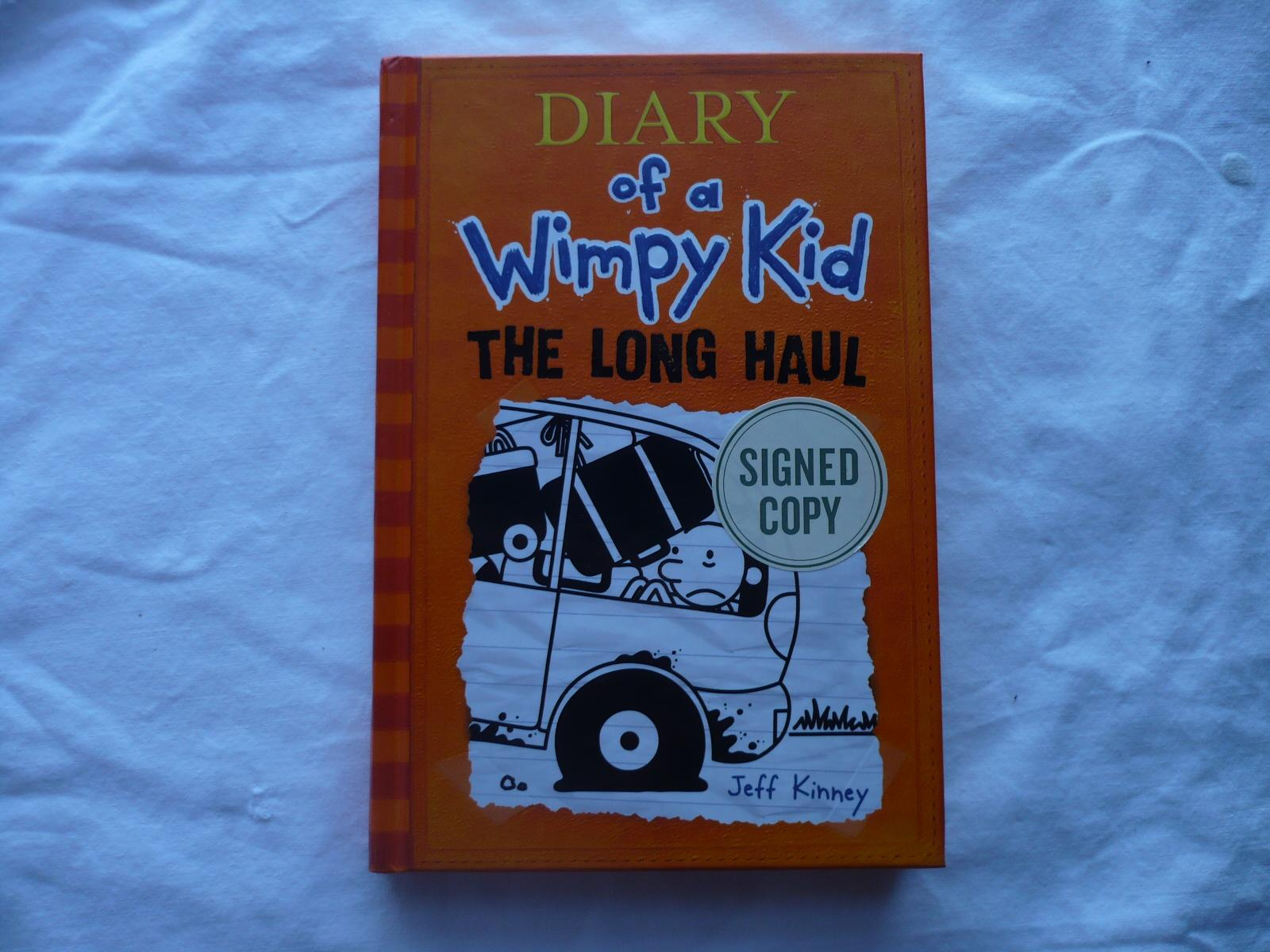 Diary Of A Wimpy Kid The Long Haul By Jeff Kinney Very Good Hardcover 2014 1st Edition Signed By Author S Randy Berry
