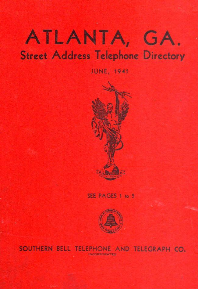 addresses telephone book