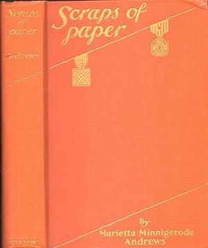 Scraps of Paper: Andrews, Marietta Minnigerode