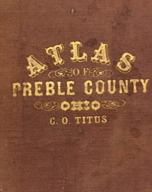 Atlas of Preble County Ohio: Lake, D. J.
