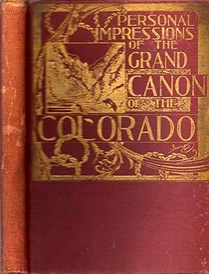 Personal Impressions of the Grand Canon of the Colorado River Near Flagstaff, Arizona: Hance, Capt....