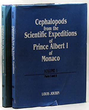Cephalopods from the Scientific Expeditions of Prince Albert I of Monaco. 2 volumes: Joubin, Louis