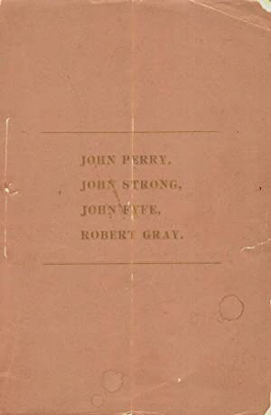Memoranda Concerning Descendants, of John Perry, John Strong, John Fyfe, Robert Gray: Perry, Aaron ...