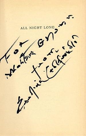 All Night Long. A Novel of Guerilla Warfare in Russia: Caldwell, Erskine