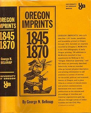 Oregon Imprints 1845-1870: Belknap. George N.