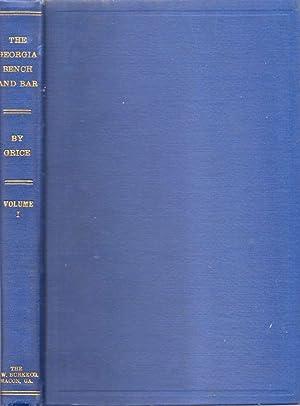 The Georgia Bench and Bar Volume 1: Grice, Warren