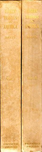 Travels of John Davis in the United States of America 1798 to 1802: Davis, John; Cheney, John Vance...