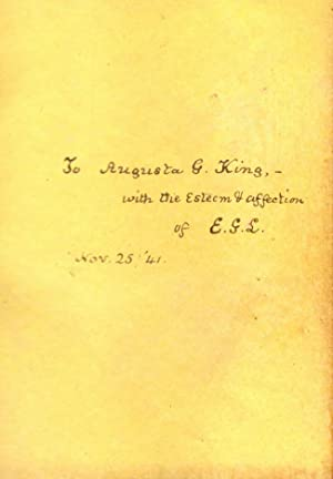 Specimens of English Sonnets: Dyce, Rev. Alexander (selected by)