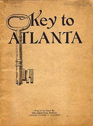 Key to Atlanta: Industrial Bureau Atlanta Chamber of Commerce]