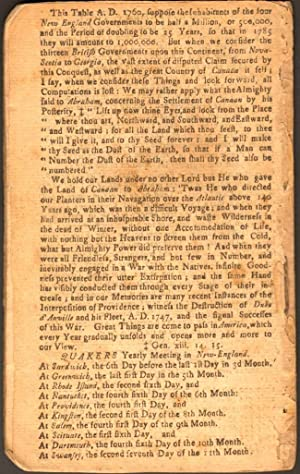 An Astronomical Diary: Or, Almanack For the Year of our Lord Jesus Christ, 1763. Being Bissextile ...
