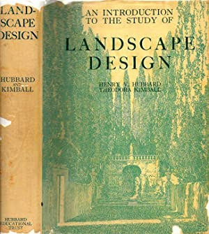 An Introduction to the Study of Landscape: Hubbard, Henry Vincent;