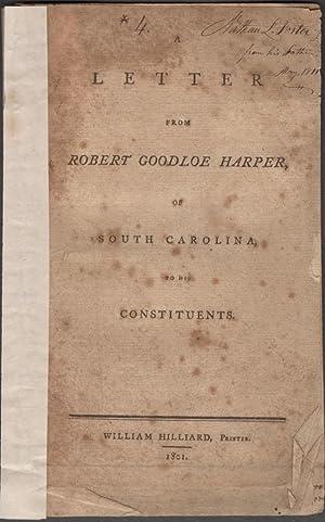 A Letter from Robert Goodloe Harper, of: Harper, Robert Goodloe