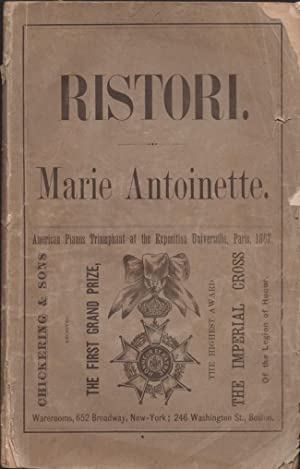 Marie Antoinette. A Drama in a Prologue, Five Acts, and Epilogue