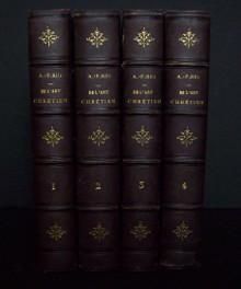 De L'art Chrétien ( en Italie) 4 tomes: A F Rio