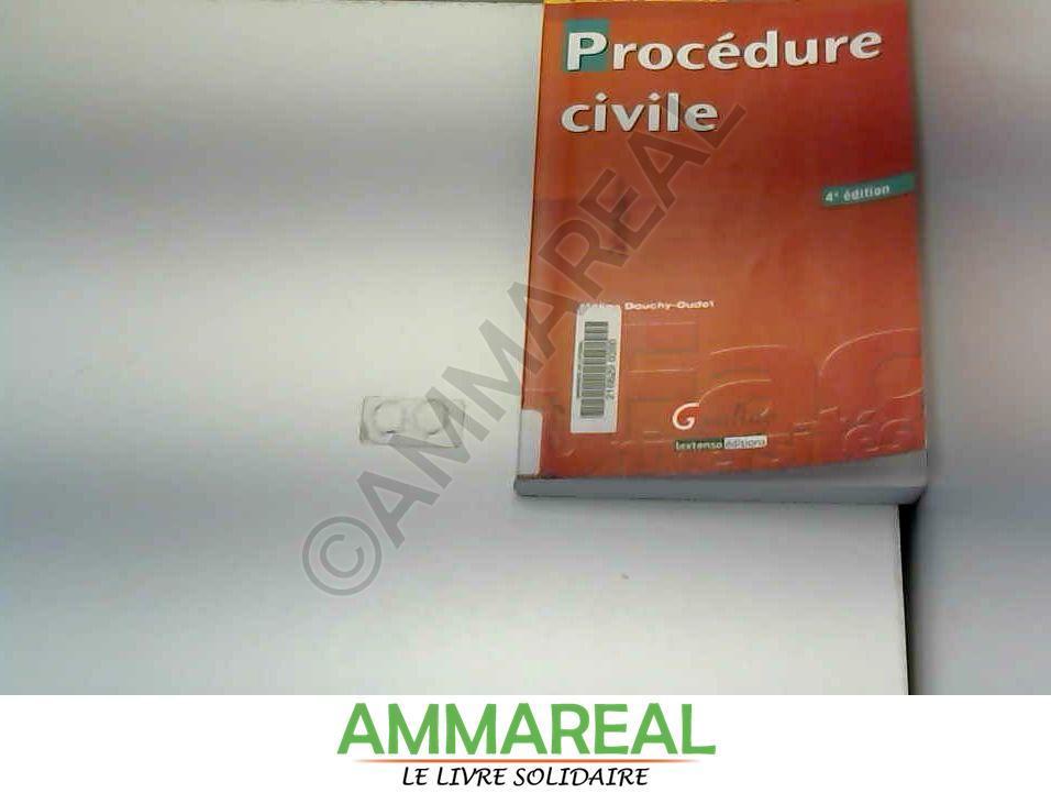 9782297011563 - Mélina Douchy-Oudot: Procédure civile - Livre