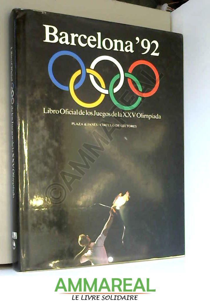 Libro Oficial De Los Juegos Olimpicos Barcelona 92 De Quim Regas
