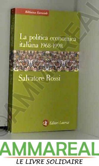 La politica economica italiana 1968-2000