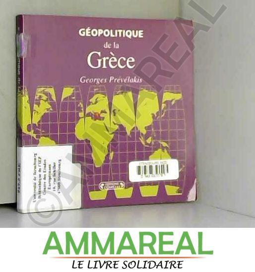 Geopolitique de la Gréce - G.Prevelakis
