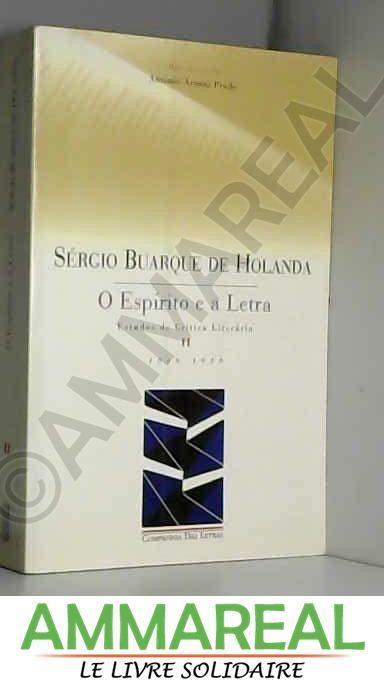 O Espírito e A Letra - Volume II (Em Portuguese do Brasil)