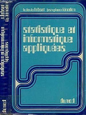 Statistique et informatique appliquees: FENELON JEAN-PIERRE /