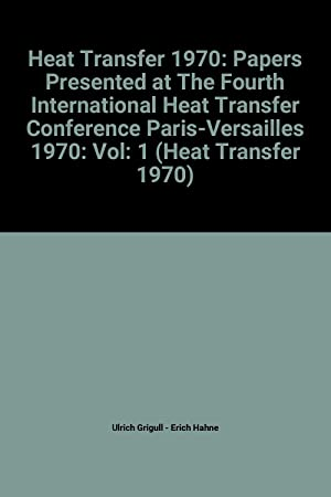papers presented international heat transfer conference