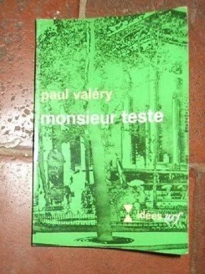 Monsieur Teste.: VALERY (Paul)