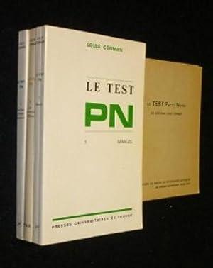 Le test pn : manuel 1: Corman Louis