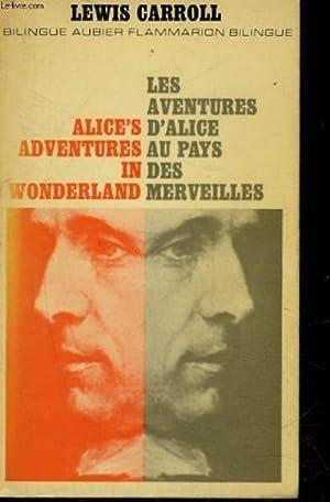 Les aventures d'Alice au pays des merveilles: Lewis CARROLL