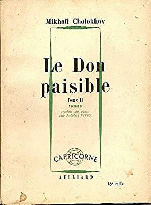 Le don paisible. tome II.: Cholokhov Mikhail