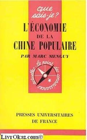 L'Économie de la Chine populaire : Par: Marc Menguy