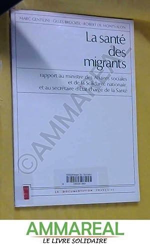 La santé des migrants: Rapport au Ministre: Marc Gentilini
