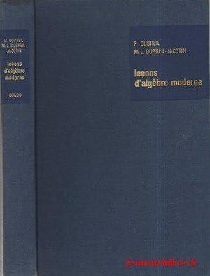 P. Dubreil, M.-L. Dubreil-Jacotin,. Leçons d'algèbre moderne: Marie-Louise Dubreil-Jacotin