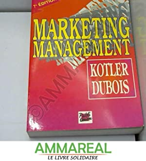 Marketing management: Philip Kotler