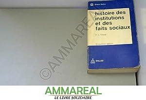 Histoire des institutions publiques et des faits: France