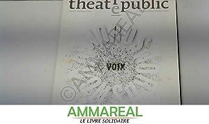 Théâtre/Public, N° 201, Juillet-Sept : Voix Words: Jeanne Bovet, Jean-Marc