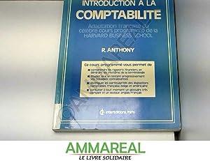 Introduction à la comptabilité: Robert N. Anthony,