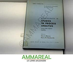 Cowles Foundation Monograph 18,studies in Process Analysis: Alan S. Manne