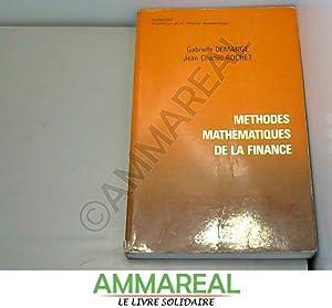 Méthodes mathématiques de la finance: Jean-Charles Rochet