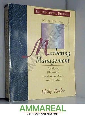 MARKETING MANAGEMENT: Philip Kotler