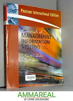 Essentials of Management Information Systems: International Edition: Jane Laudon et