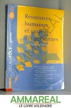 Ressources humaines et gestion des personnes : Jean-Marie Peretti
