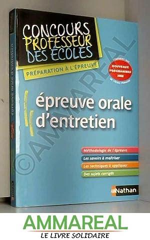 Epreuve Orale d'Entretien - CRPE: Jarry Jean-Pierre, Michel