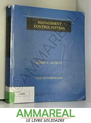 Management Control Systems: ANTHONY