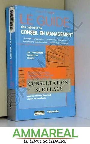 Le guide des cabinets de conseil en: Jean-Baptiste Hugot et