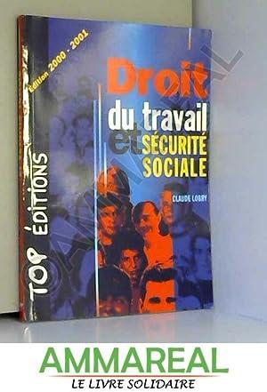Droit du travail et sécurité sociale, 2000: Lobry