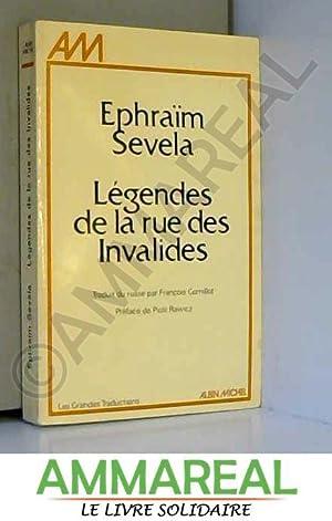 Légendes de la rue des Invalides : Ephraïm Sevela
