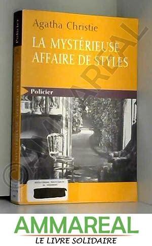 La mystérieuse affaire de styles. : [GROS: Agatha Christie