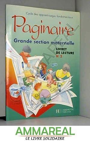 Paginaire - grande section, numéro 2, livret: Gérard