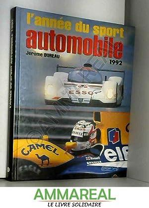 L'Année du sport automobile 1992, numéro 4: Jérôme Bureau