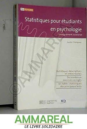 statistiques pour étudiants en psychologie: Lucile Chanquoy